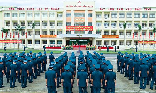 Điểm Chuẩn Trường Sĩ Quan Không Quân 2021