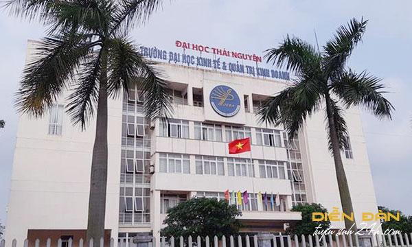 Thông Tin Tuyển Sinh Đại Học Kinh Tế Và Quản Trị Kinh Doanh - ĐH Thái Nguyên Năm 2021