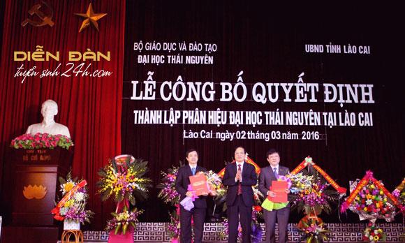 Thông Tin Tuyển Sinh Phân Hiệu Đại Học Thái Nguyên Tại Lào Cai Năm 2021