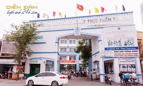 Thông Tin Tuyển Sinh Đại Học Công Nghiệp Thực Phẩm TP.HCM (HUFI) Năm 2021