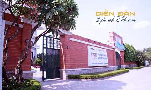 Thông Tin Tuyển sinh Đại Học Kinh Tế Tài Chính TP HCM (UEF) 2021