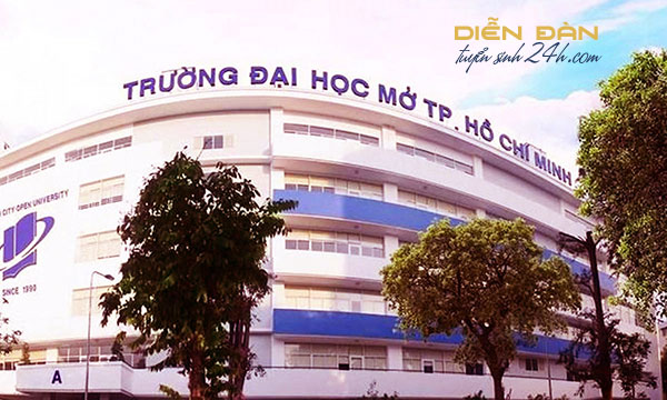 Thông Tin Tuyển Sinh Trường Đại Học Mở TP HCM 2021