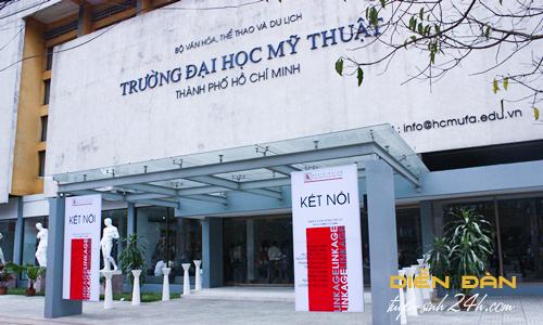 Thông Tin Tuyển Sinh Đại Học Mỹ Thuật TP Hồ Chí Minh