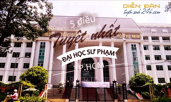 Thông Tin Tuyển Sinh Trường Đại Học Sư Phạm TP Hồ Chí Minh 2020