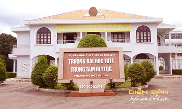 Thông Tin Tuyển Sinh Đại Học Thể Dục Thể Thao TPHCM