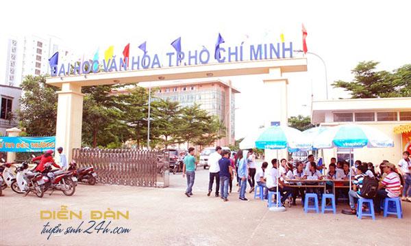 Thông Tin Tuyển Sinh Trường Đại học Văn Hóa TP HCM