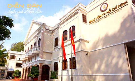 Thông Tin Tuyển Sinh Nhạc Viện Thành Phố Hồ Chí Minh 2020