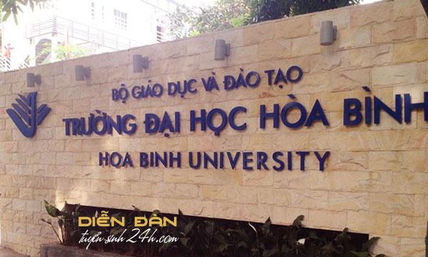 Điểm Chuẩn Đại Học Hòa Bình