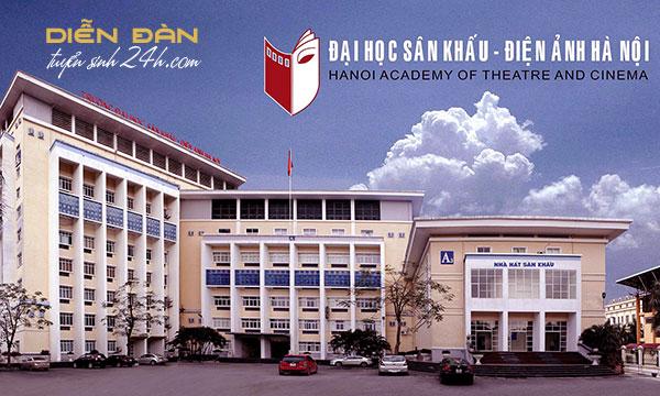 Thông Tin Tuyển Sinh Trường Đại Học Sân Khấu Điện Ảnh Hà Nội 2021