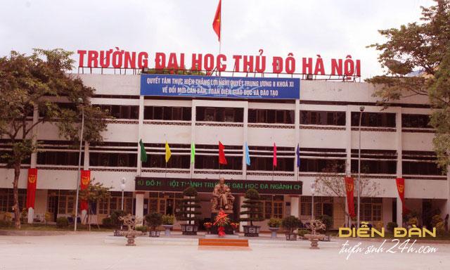 Thông Tin Tuyển Sinh Đại Học Thủ Đô Hà Nội 2021