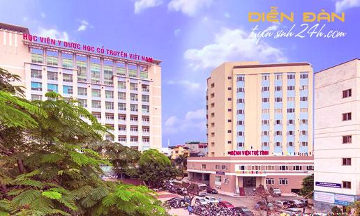 Thông Tin Tuyển Sinh Học Viện Y Dược Học Cổ Truyền Việt Nam Năm 2021