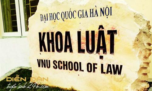 Thông Tin Tuyển Sinh Khoa Luật - Đại Học Quốc Gia