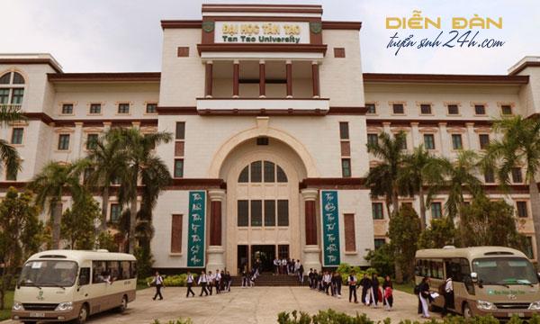 Thông Tin Tuyển Sinh Đại Học Tân Tạo 2021