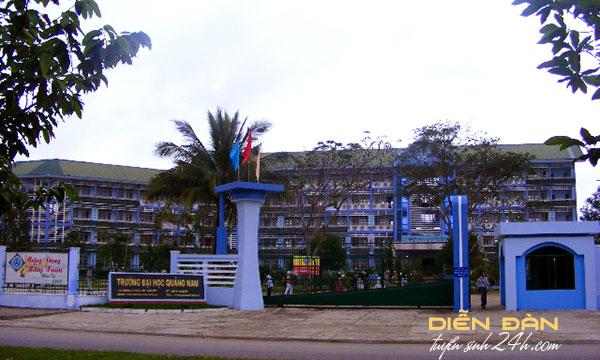 Thông Tin Tuyển Sinh Trường Đại Học Quảng Nam 2021