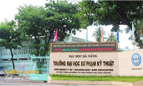 Thông Tin Tuyển Sinh Đại học Sư Phạm Kỹ Thuật -  Đại Học Đà Nẵng