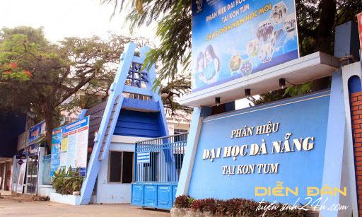 Thông Tin Tuyển Sinh Phân Hiệu Đại Học Đà Nẵng Tại Kon Tum 2021