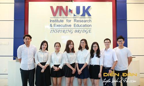 Thông Tin Tuyển Sinh Viện Nghiên Cứu Và Đào Tạo Việt Anh - ĐH Đà Nẵng