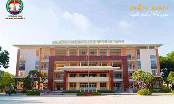 Thông Tin Tuyển Sinh Trường Cao Đẳng An Ninh Nhân Dân II 2021
