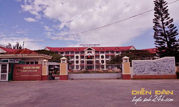 Thông tin Tuyển Sinh Trường Cao Đẳng Bình Định