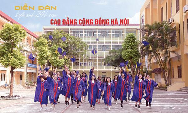 Thông Tin Tuyển Sinh Trường Cao Đẳng Cộng Đồng Hà Nội Năm 2021