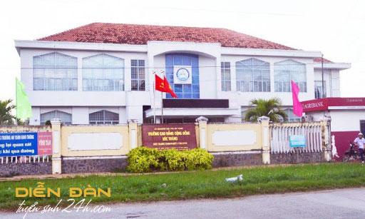 Thông tin Tuyển Sinh Trường Cao Đẳng Cộng Đồng Sóc Trăng 2021