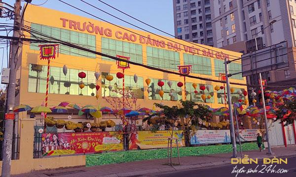 Thông Tin Tuyển Sinh Trường Cao Đẳng Đại Việt Sài Gòn Tuyển Sinh 2020