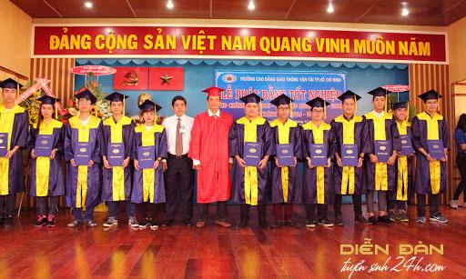 Thông Tin Tuyển Sinh Trường Cao Đẳng Giao Thông vận Tải TPHCM