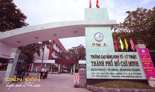 Thông Tin Tuyển Sinh Trường Cao Đẳng Kinh Tế Kỹ Thuật TPHCM