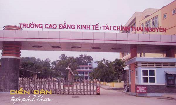 Thông Tin Tuyển Sinh Trường Cao Đẳng Kinh Tế Tài Chính Thái Nguyên Năm 2021