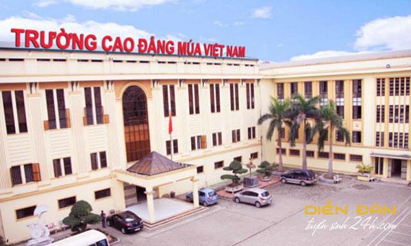 Thông Tin Tuyển Sinh Cao Đẳng Múa Việt Nam Năm 2020