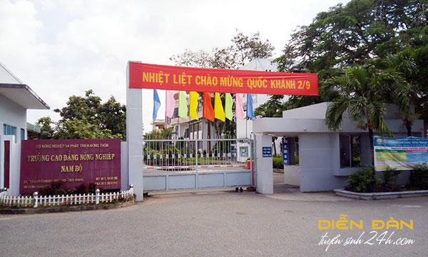 Thông Tin Tuyển Sinh Trường Cao Đẳng Nông Nghiệp Nam Bộ 2021