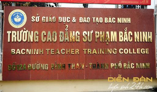Thông Tin Tuyển Sinh Trường Cao Đẳng Sư Phạm Bắc Ninh Năm 2021