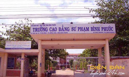 Thông Tin Tuyển Sinh Trường Cao Đẳng Sư Phạm Bình Phước 2020