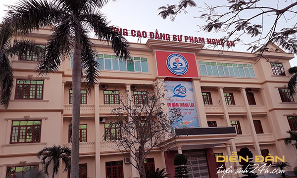 Thông Tin Tuyển Sinh Trường Cao Đẳng Sư Phạm Nghệ An Năm 2020