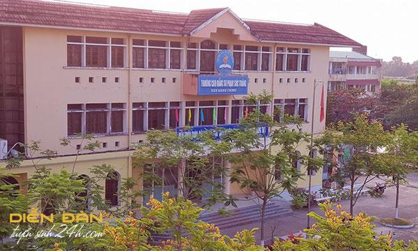 Thông Tin Tuyển Sinh Trường Cao Đẳng Sư Phạm Sóc Trăng 2020