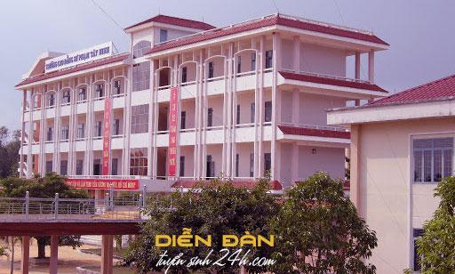 Thông Tin Tuyển Sinh Trường Cao Đẳng Sư Phạm Tây Ninh 2020