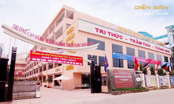 Thông Tin Tuyển Sinh Cao Đẳng Văn Hóa Nghệ Thuật Và Du Lịch Sài Gòn 2021
