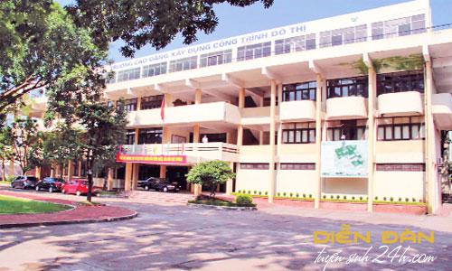 Thông Tin Tuyển Sinh Trường Cao Đẳng Xây Dựng Công Trình Đô Thị 2021