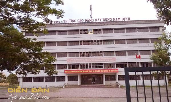 Thông Tin Tuyển Sinh Cao Đẳng Xây Dựng Nam Định Năm 2020