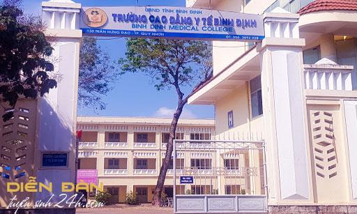 Thông Tin Tuyển Sinh Trường Cao Đẳng Y Tế Bình Định 2021