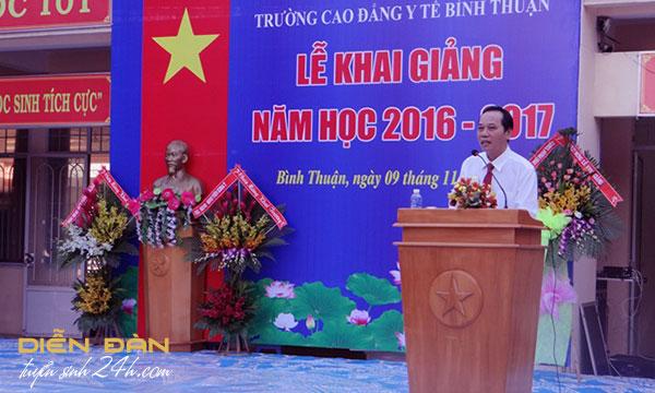 Thông Tin Tuyển Sinh Trường Cao Đẳng  Y Tế Bình Thuận 2020