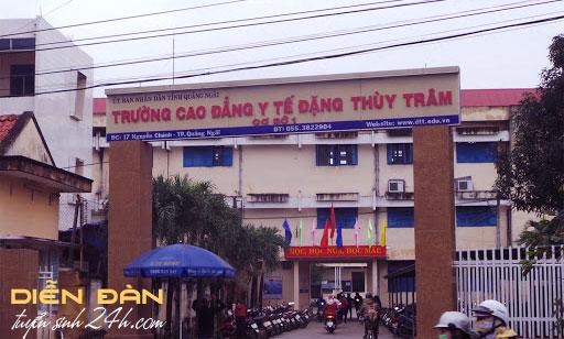 Thông Tin Tuyển Sinh Trường Cao Đẳng Y Tế Đặng Thùy Trâm 2021