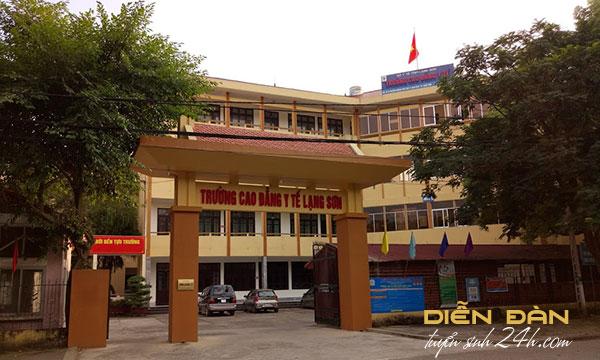 Thông Tin Tuyển Sinh Trường Cao Đẳng Y Tế Lạng Sơn
