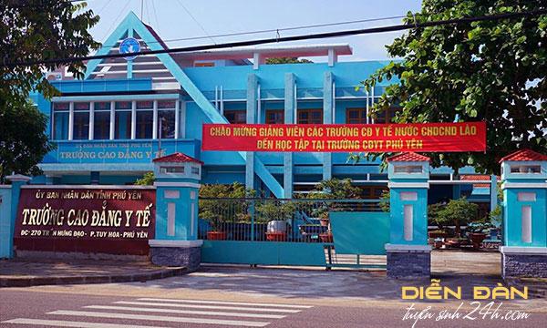 Thông Tin Tuyển Sinh Trường Cao Đẳng Y Tế Phú Yên 2020