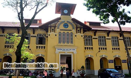 Thông Báo Điểm Chuẩn Đại Học Sài Gòn