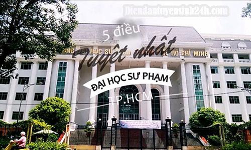 Thông Báo Điểm Chuẩn Đại Học Sư Phạm TP.HCM