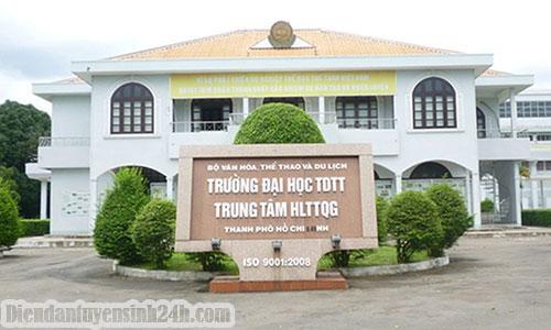 Thông Báo Điểm Chuẩn Đại Học Sư Phạm Thể Dục Thể Thao TP.HCM