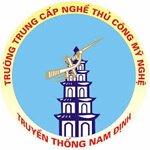 Trường Trung Cấp Nghề Thủ Công Mỹ Nghệ Truyền Thống Nam Định Thông Báo Tuyển Sinh 2021